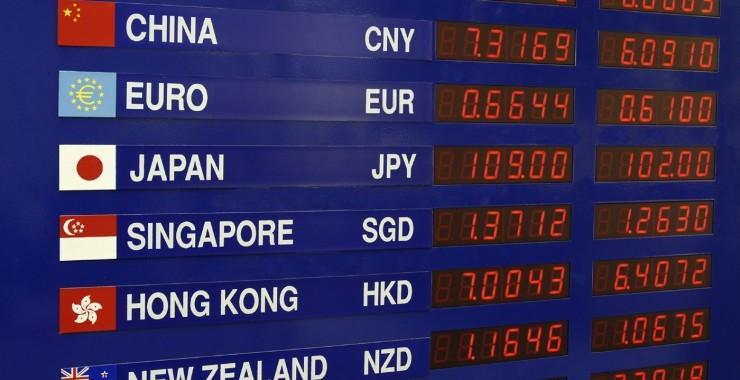 EUR/USD, GBP/USD, USD/JPY, AUD/USD, NZD/USD